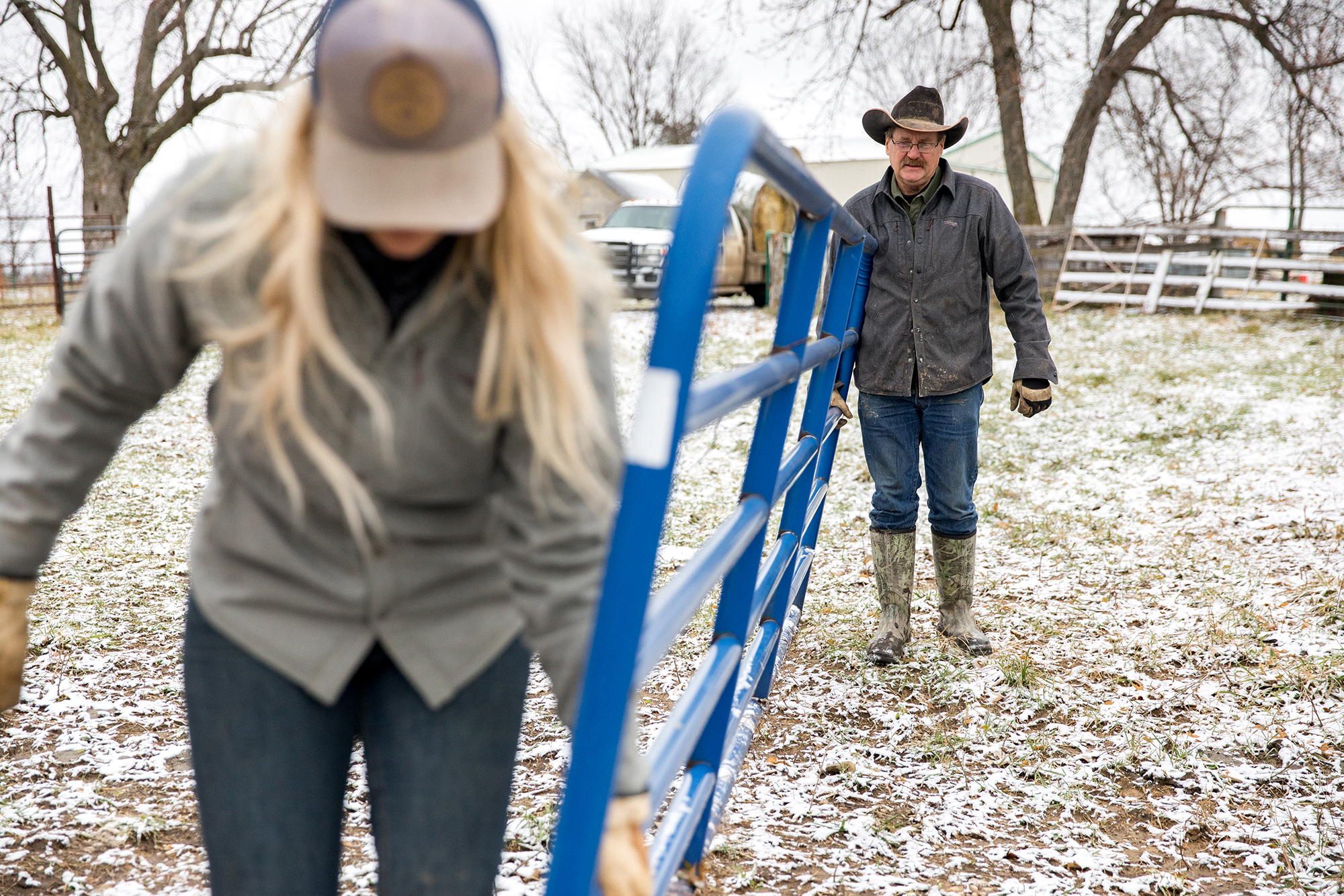 Farming and ranching is a family affair.