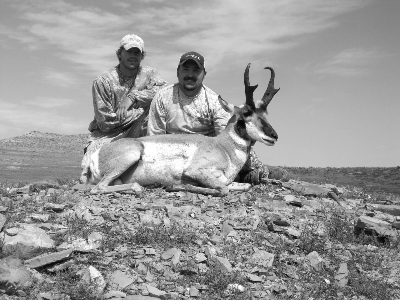 Antelope buck taken years ago.