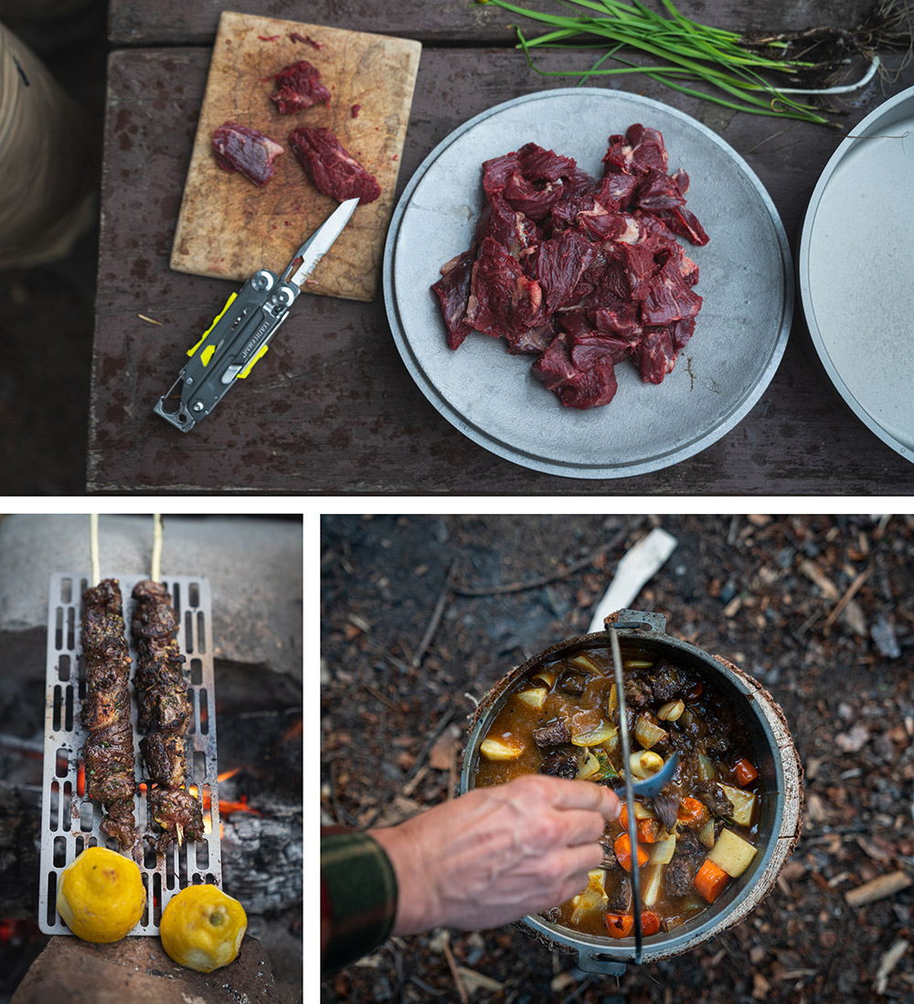 Delicious ways to prepare bear meat.