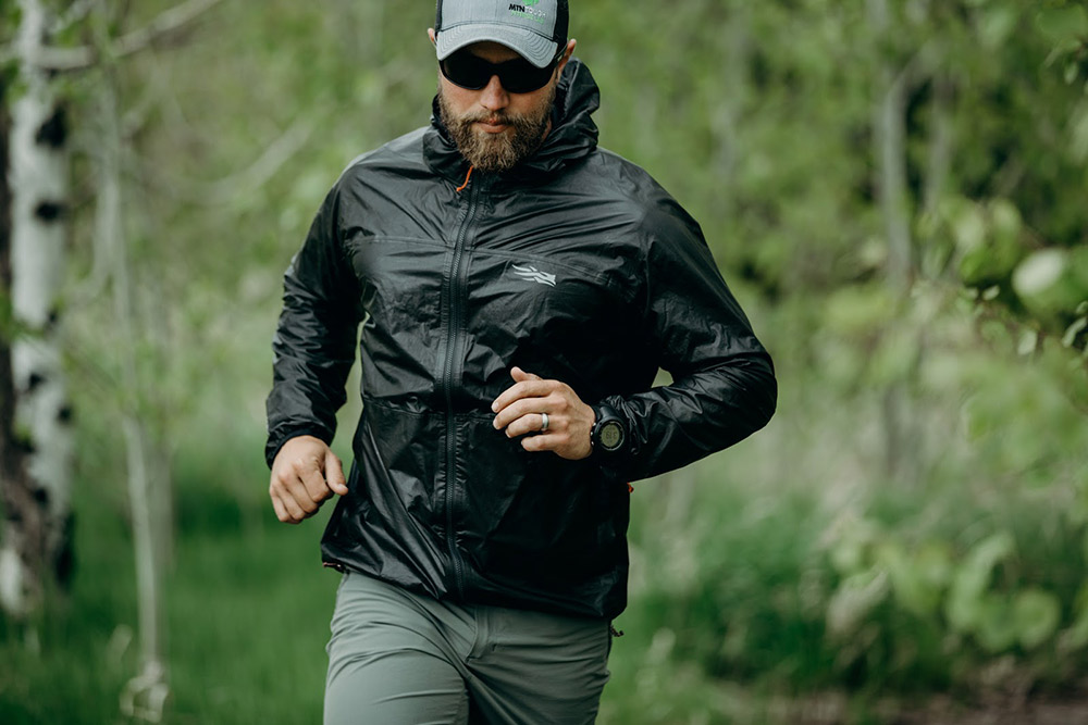 Training in the vapor SD jacket