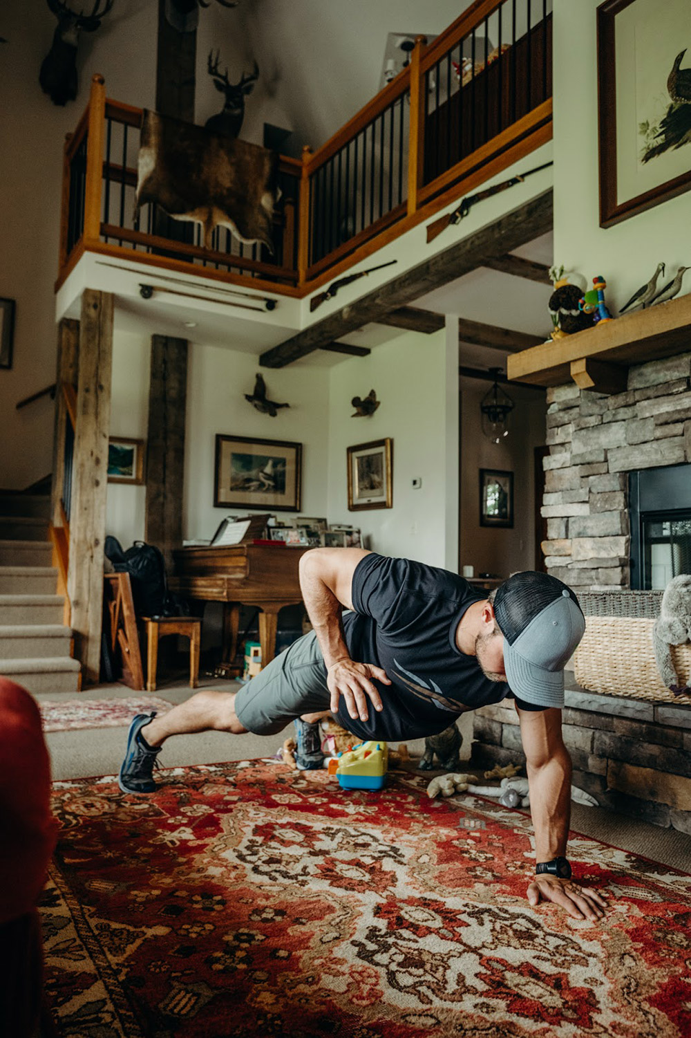 Pushups at home