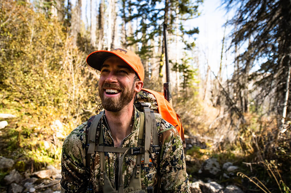 Craig Francis is all smiles on a hunt