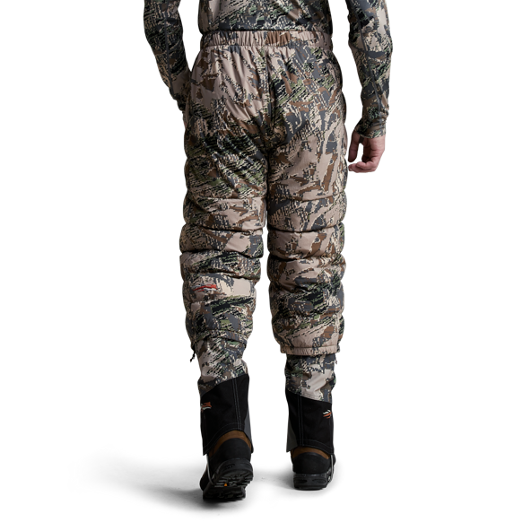 Kelvin Lite Down Pant Open Country on model front.