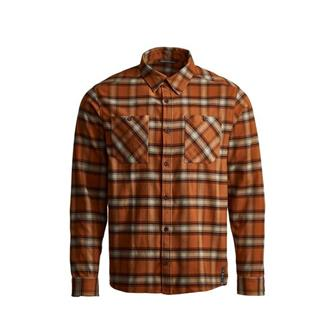 Riser Work Shirt in Copper Plaid