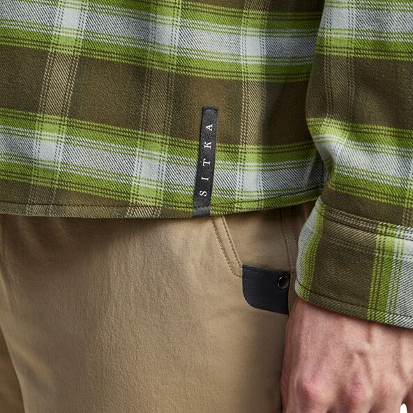 Riser Work Shirt in Covert SITKA tag