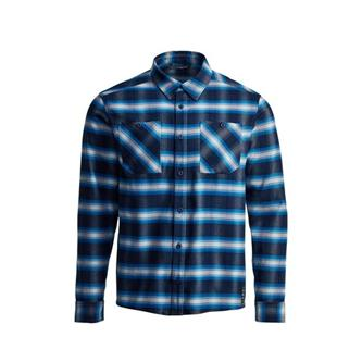 Riser Work Shirt in Eclipse Plaid