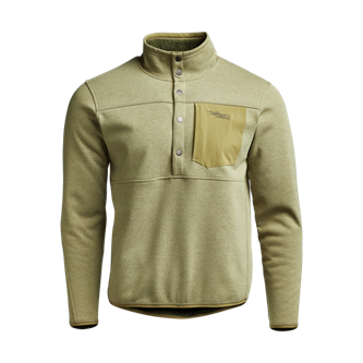 Front Range Snap Fleece in Sagebrush