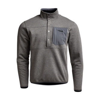 Front Range Snap Fleece in Lead