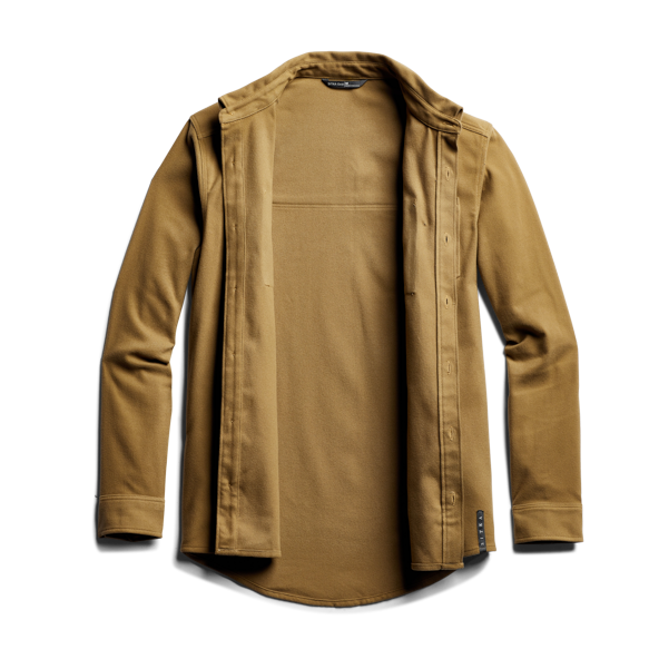 Riser Work Shirt in Clay front view