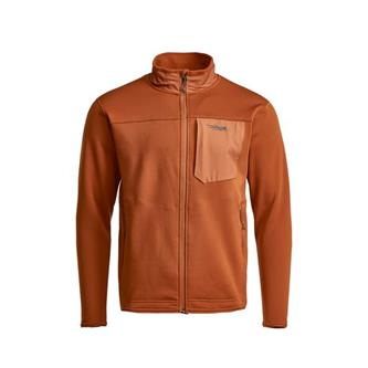 Dry Creek Fleece Jacket in Copper