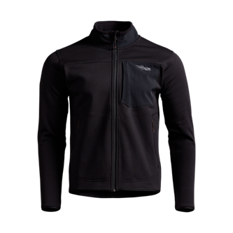 Dry Creek Fleece Jacket in SITKA Black