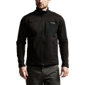 Dry Creek Fleece Jacket in SITKA Black side view