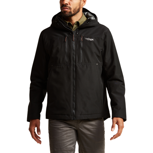 Grindstone Jacket in SITKA Black side view