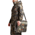 Wader Storage Bag in Waterfowl Timber shoulder strap