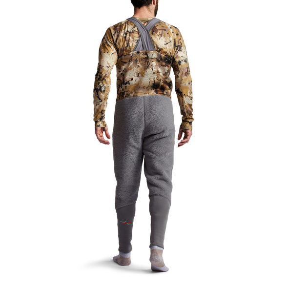 Gradient Cold Weather Bib in Waterfowl Marsh straps