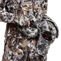 Tool Belt Whitetail Pack in Elevated II angled view with cupholder