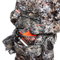 Tool Belt Whitetail Pack in Elevated II top zipper with gloves