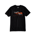 Icon Tee in SITKA Black