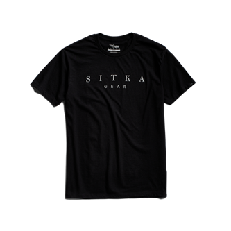 Legend Tee in SITKA Black