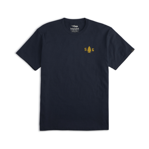 Woodblock Tee in Eclipse