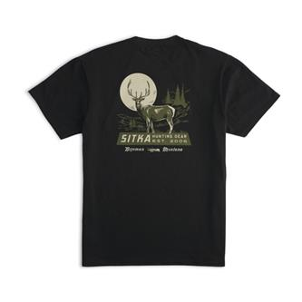 Broadside Tee in SITKA Black