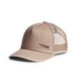 Back of Badge Icon Mid Pro Trucker in Sandstone