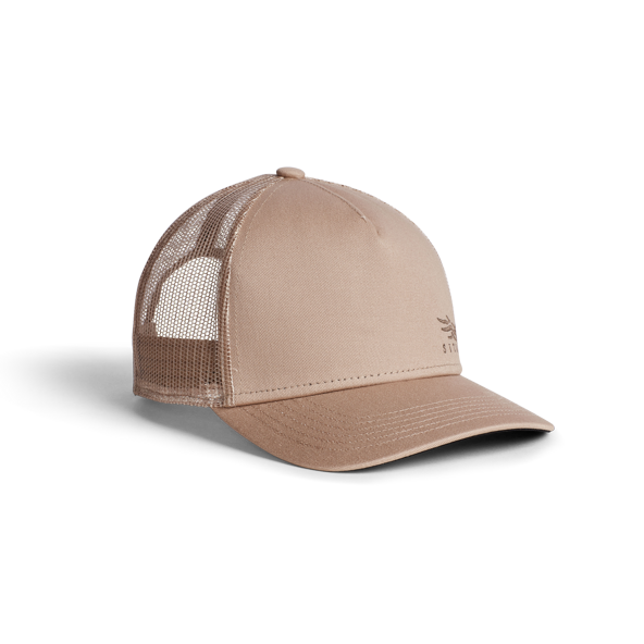 Badge Icon Mid Pro Trucker in Sandstone