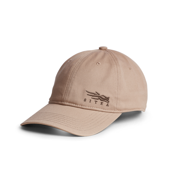 Back of Badge Icon Lo Pro Strapback in Sandstone