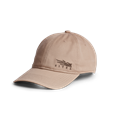 Badge Icon Lo Pro Strapback in Sandstone