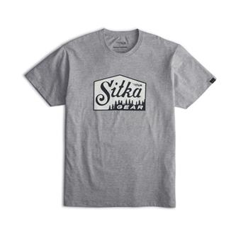 Ridgeline Tee in Heather Grey