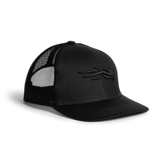 Icon Mid Pro Trucker in Basic Black