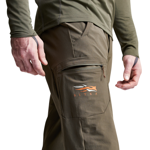 Bull Star Work Trousers Performance Brown//Black Size 48